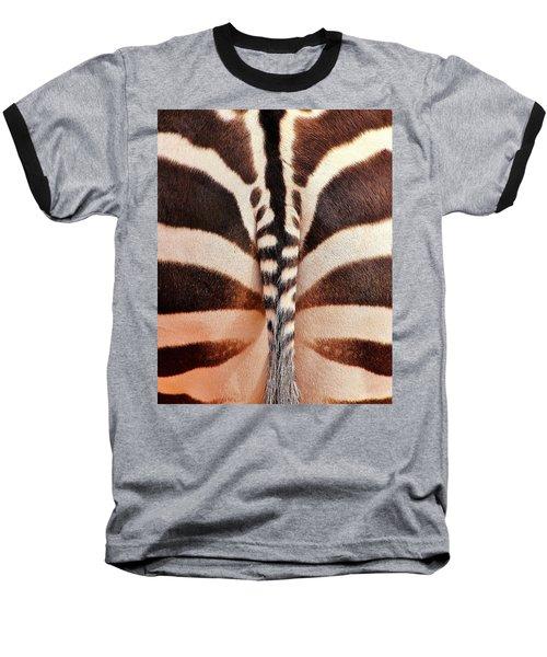 Tailing A Zebra Baseball T-Shirt