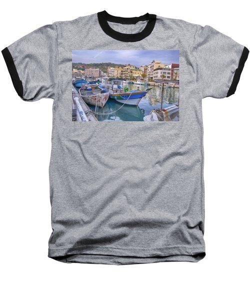 Taiwan Boats Baseball T-Shirt