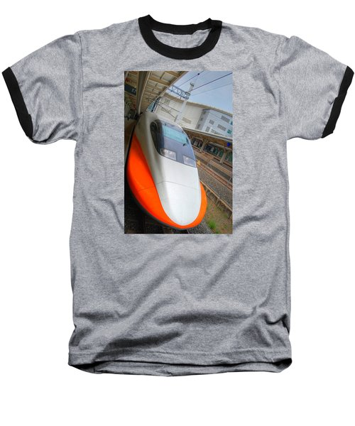 Taiwan Bullet Train Baseball T-Shirt