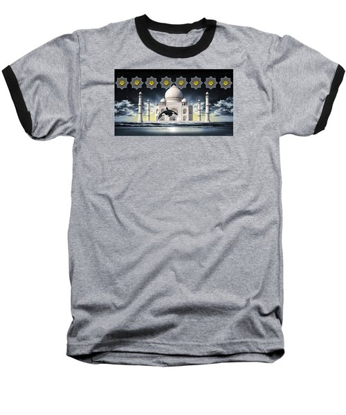 Taj Baseball T-Shirt by Scott Ross