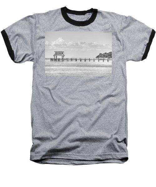Take A Long Walk Off A Short Pier Baseball T-Shirt