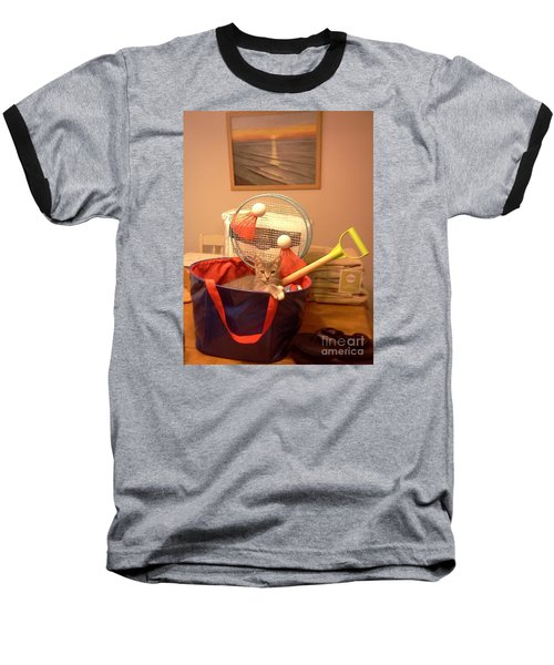 Take Me To The Beach Baseball T-Shirt by Stacy C Bottoms