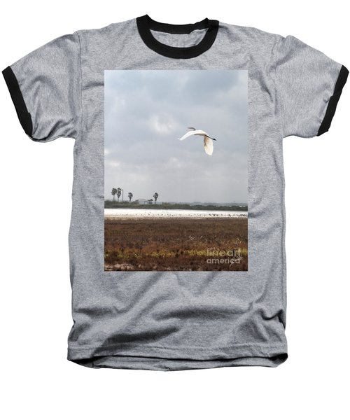 Baseball T-Shirt featuring the photograph Take Off by Erika Weber