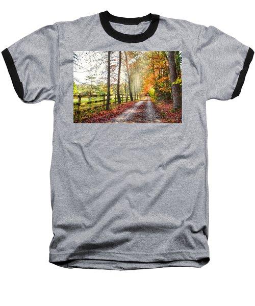 Take The Back Roads Baseball T-Shirt