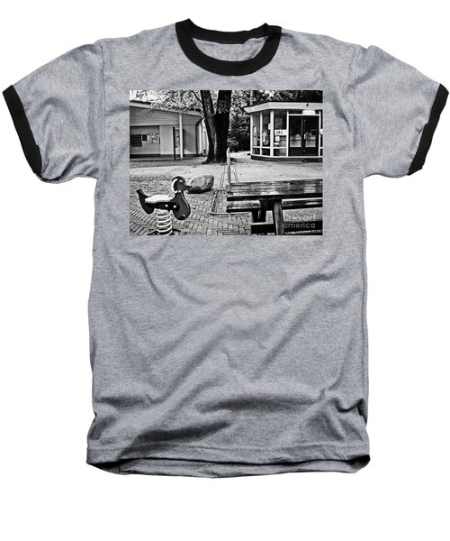 Baseball T-Shirt featuring the photograph Taking A Break by Andy Prendy