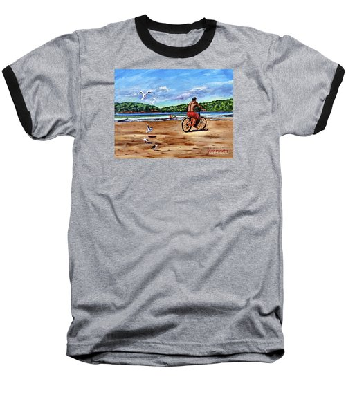 Taking A Ride  Baseball T-Shirt