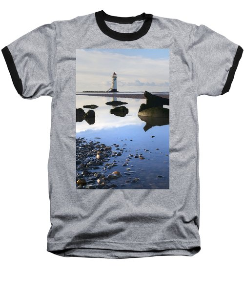 Talacer Abandoned Lighthouse Baseball T-Shirt by Spikey Mouse Photography