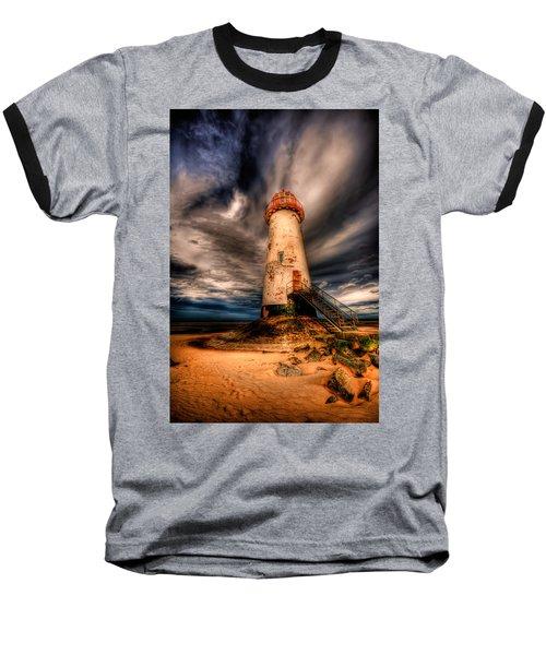 Talacre Lighthouse Baseball T-Shirt
