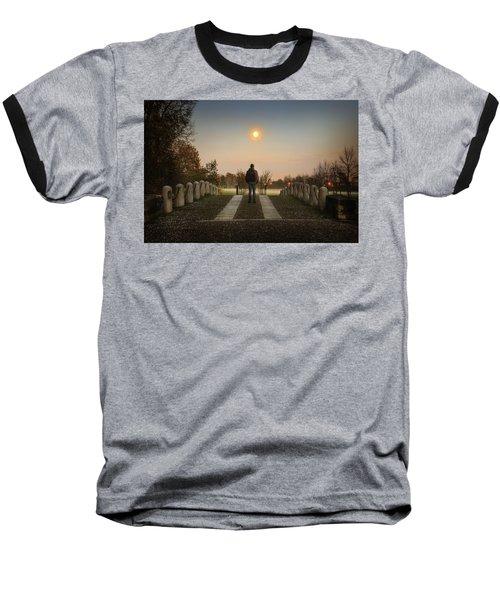 Talking To The Moon Baseball T-Shirt