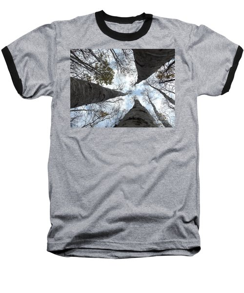 Tall Birches Baseball T-Shirt