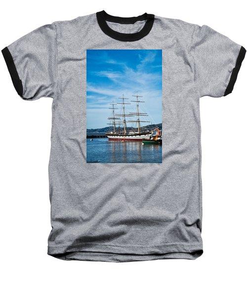 Tall Ship Balclutha San Francisco Baseball T-Shirt