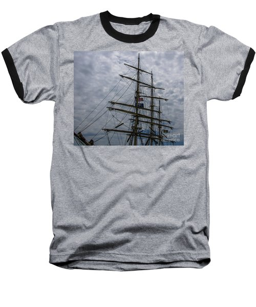 Sailing The Clouds Baseball T-Shirt by Dale Powell