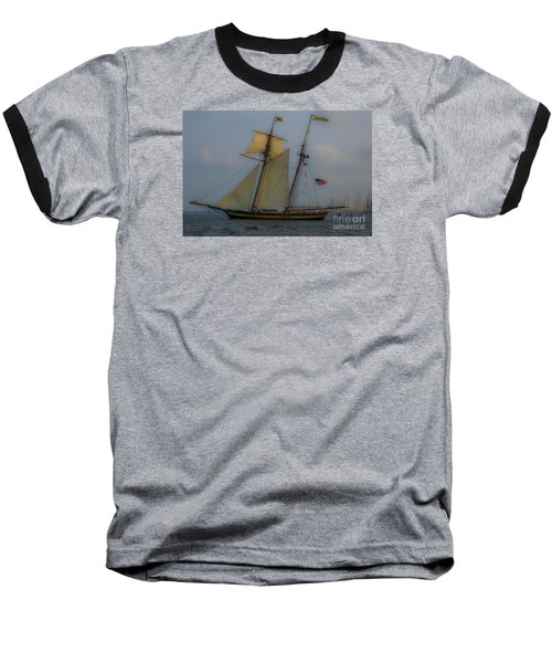Baseball T-Shirt featuring the photograph Tall Ships by Dale Powell