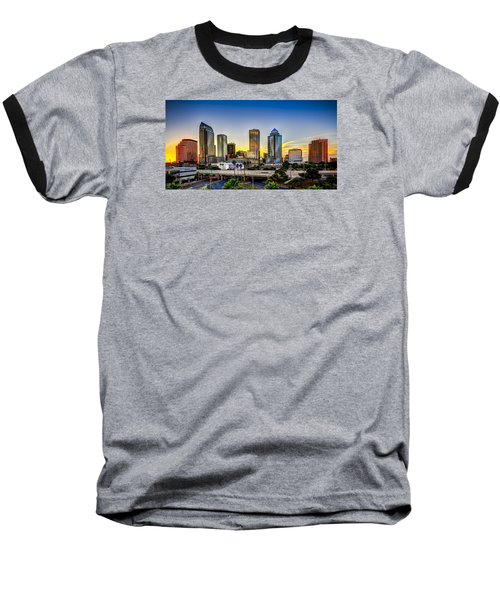 Tampa Skyline Baseball T-Shirt