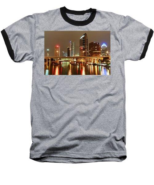 Tampa Skyline Baseball T-Shirt