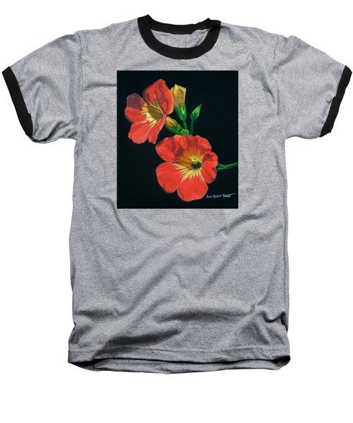 Tangerine Baseball T-Shirt by Anita Putman