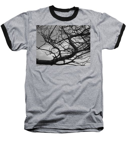 Tangled By The Wind Baseball T-Shirt