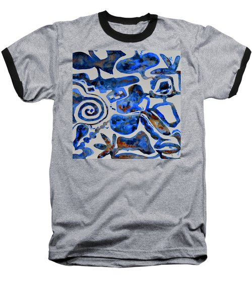 Tangled Up In Blue Baseball T-Shirt