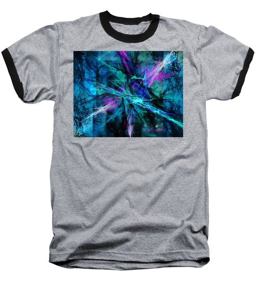 Baseball T-Shirt featuring the photograph Tangled Web by Sylvia Thornton