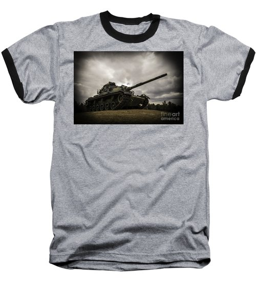 Tank World War 2 Baseball T-Shirt