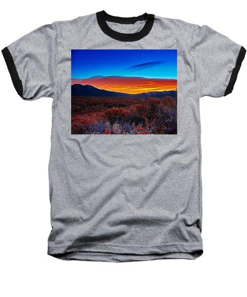 Taos Sunrise X Baseball T-Shirt