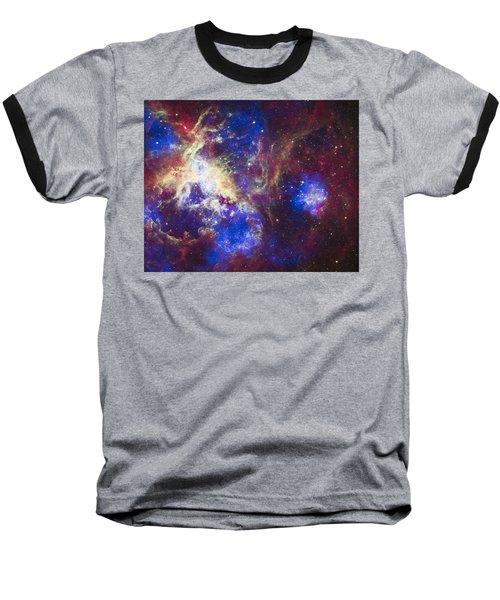 Tarantula Nebula Baseball T-Shirt
