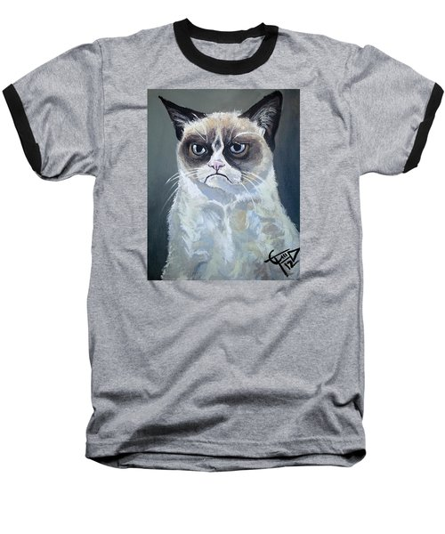 Tard - Grumpy Cat Baseball T-Shirt