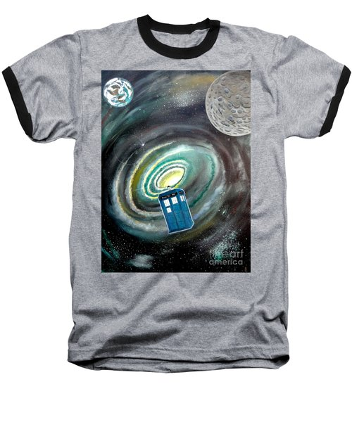 Tardis Baseball T-Shirt