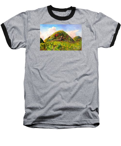 Taro Garden Of Papua Baseball T-Shirt by Jason Sentuf