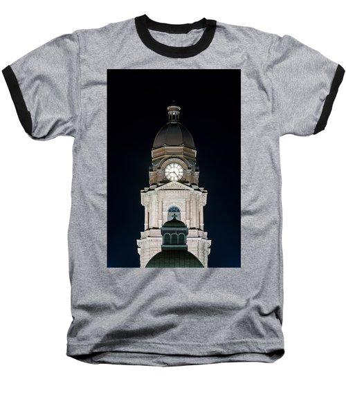 Tarrant County Courthouse V2 020815 Baseball T-Shirt