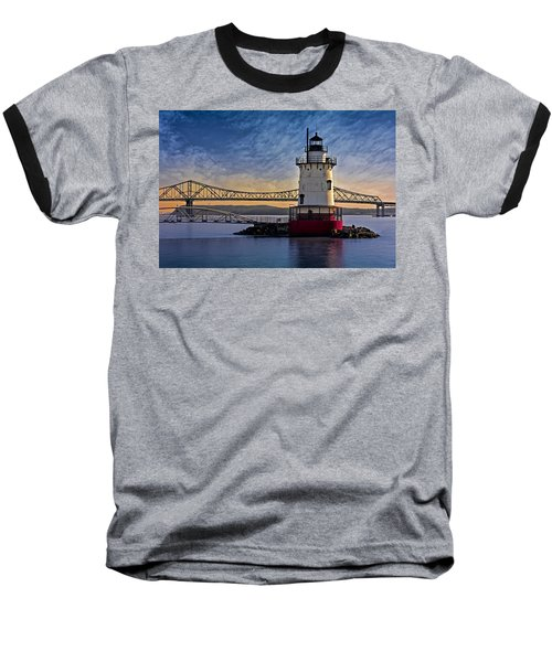 Tarrytown Light Baseball T-Shirt by Susan Candelario