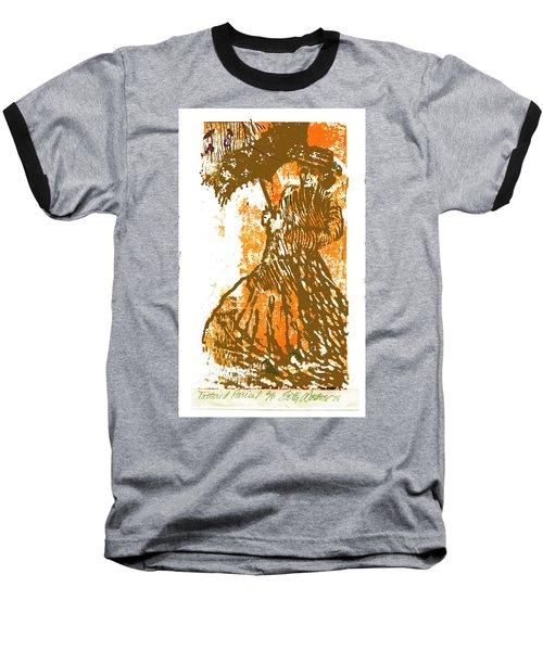 Tattered Parasol Baseball T-Shirt by Seth Weaver
