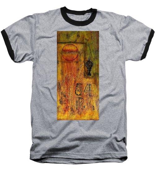 Tattered Wall  Baseball T-Shirt