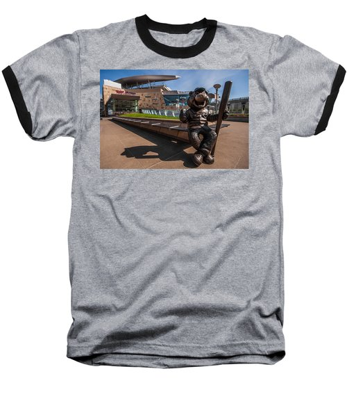 T.c. Statue And Target Field Baseball T-Shirt
