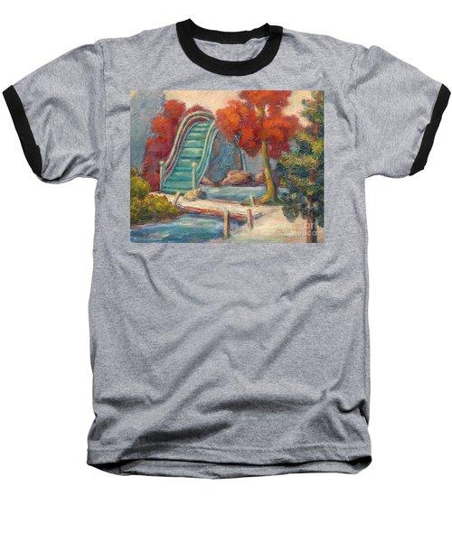 Tea Garden Bridge Baseball T-Shirt
