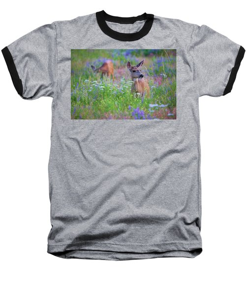 Tea Party Baseball T-Shirt by Jim Garrison