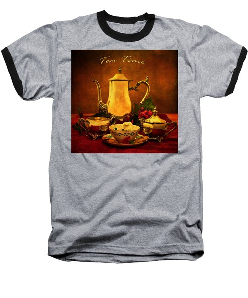 Tea Time Baseball T-Shirt