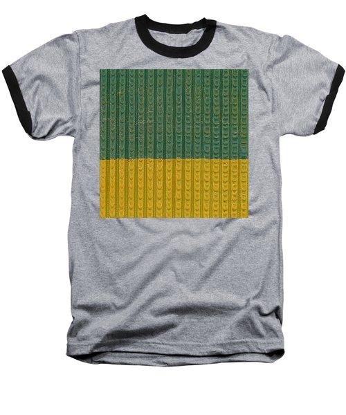 Teal And Mustard Baseball T-Shirt