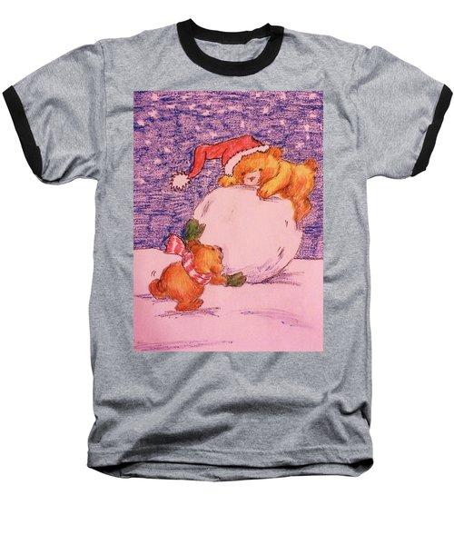 Teamwork Baseball T-Shirt by Christy Saunders Church