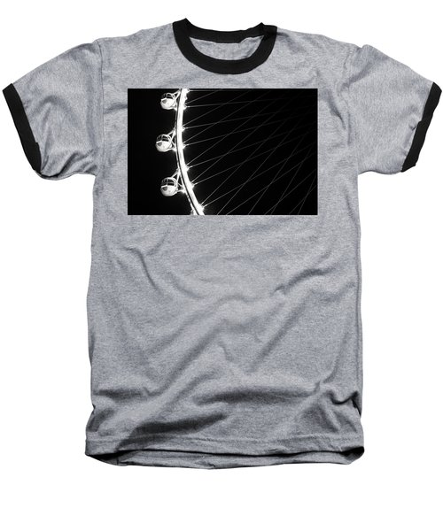 Tears On My Cheek Baseball T-Shirt by Alex Lapidus