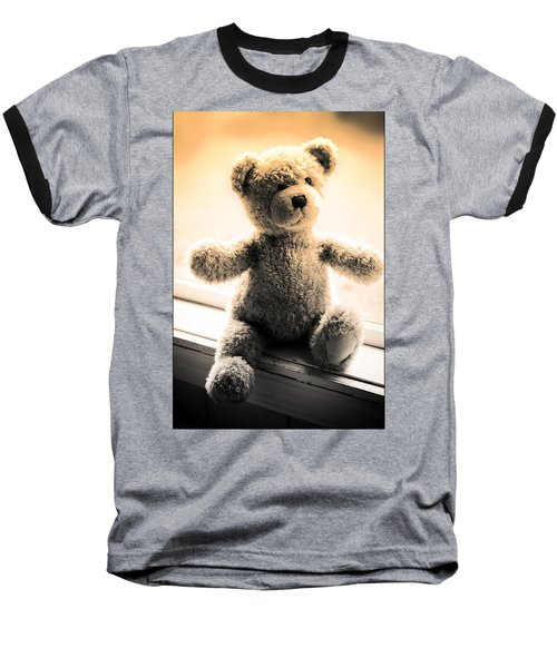 Baseball T-Shirt featuring the photograph Teddy B by Aaron Berg