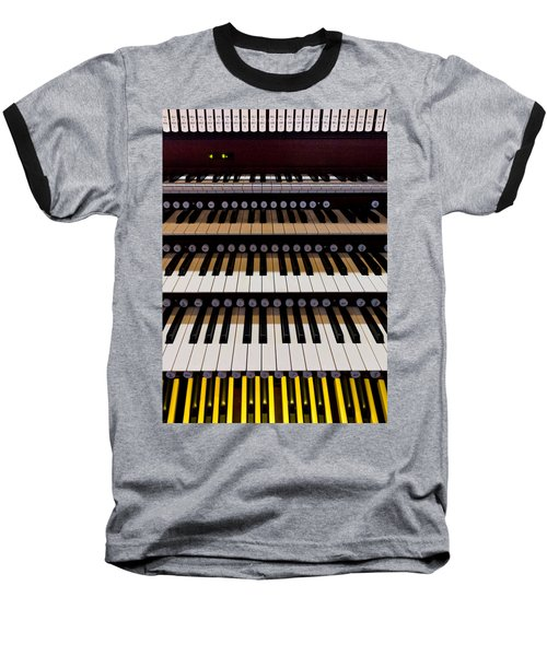 Teeth Of An Instrument Baseball T-Shirt