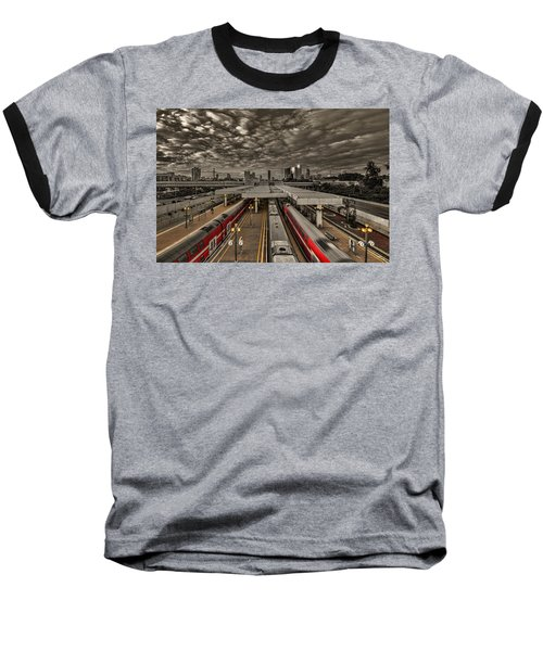 Tel Aviv Central Railway Station Baseball T-Shirt