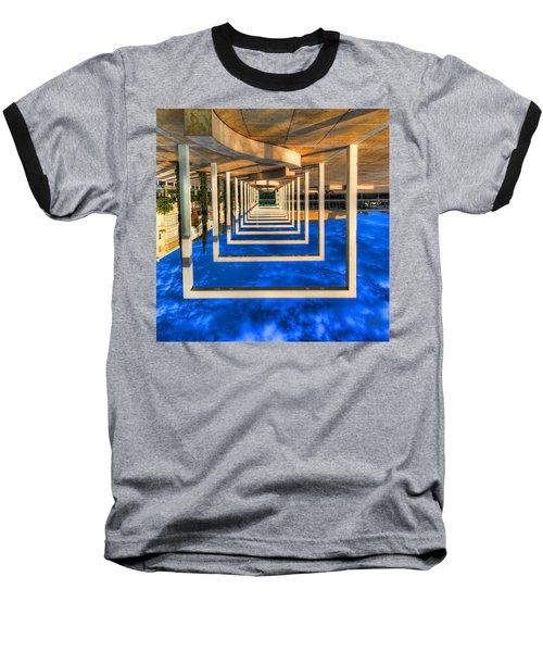 Baseball T-Shirt featuring the photograph Tel Aviv Jump by Ron Shoshani