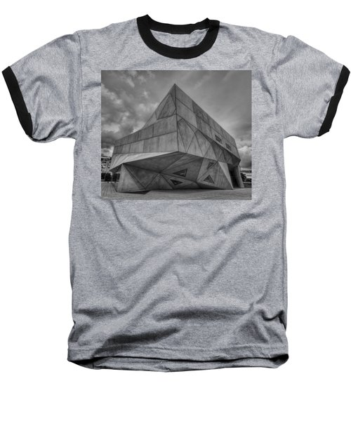 Baseball T-Shirt featuring the photograph Tel Aviv Museum  by Ron Shoshani