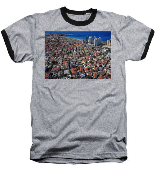 Tel Aviv - The First Neighboorhoods Baseball T-Shirt