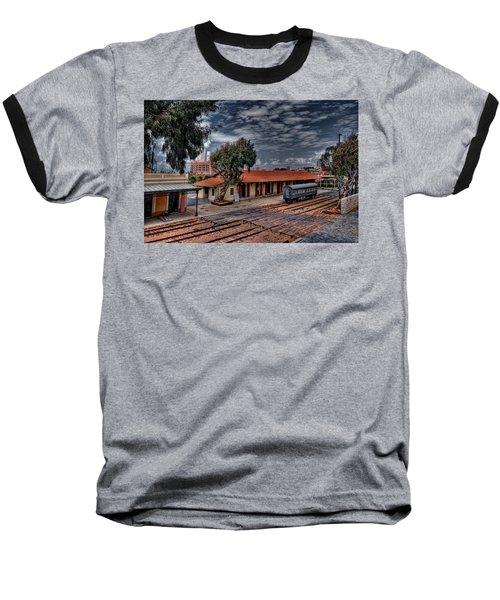 Tel Aviv To Jerusalem Baseball T-Shirt