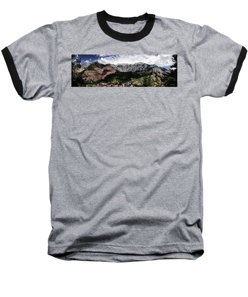 Telluride From The Air Baseball T-Shirt