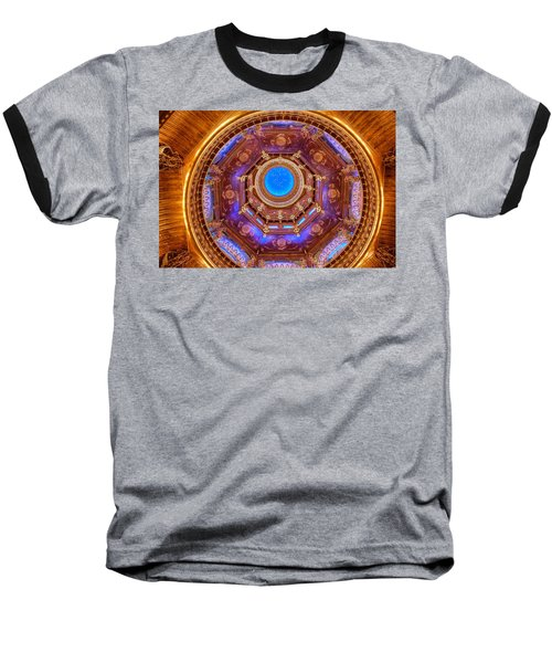 Temple Ceiling Baseball T-Shirt