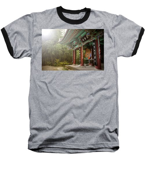 Temple Drum Baseball T-Shirt